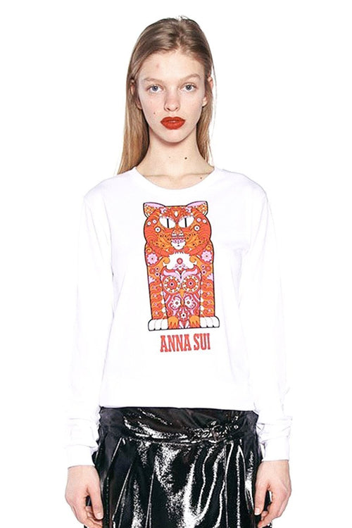 Pussycat Long Sleeve Tee
