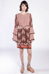 Daisy Delights Belted Dress - Anna Sui