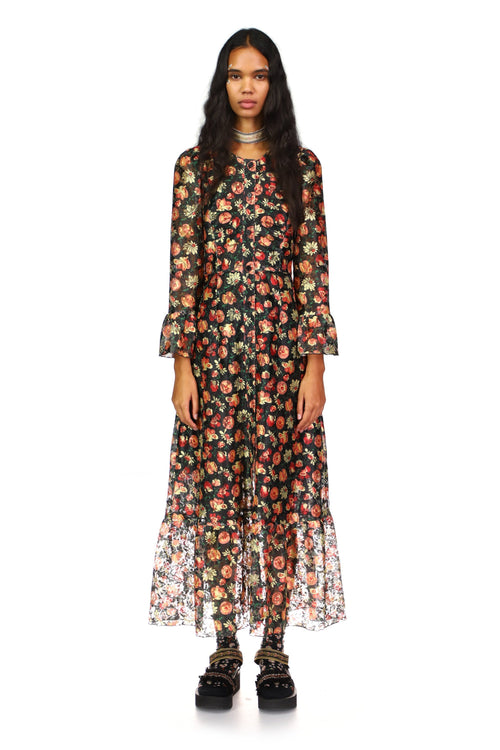 Garden of Posies Dress - Anna Sui