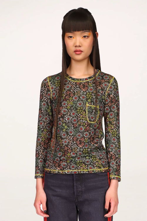 Botanic Blossom Lace Top - Anna Sui