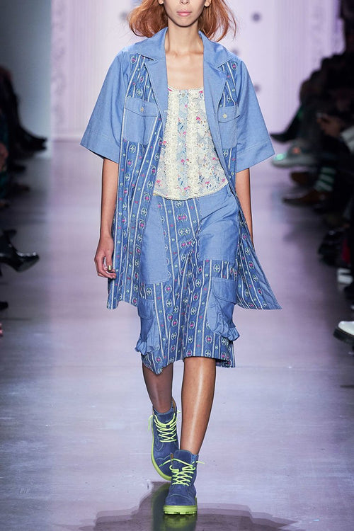 Chambray Dress - Anna Sui