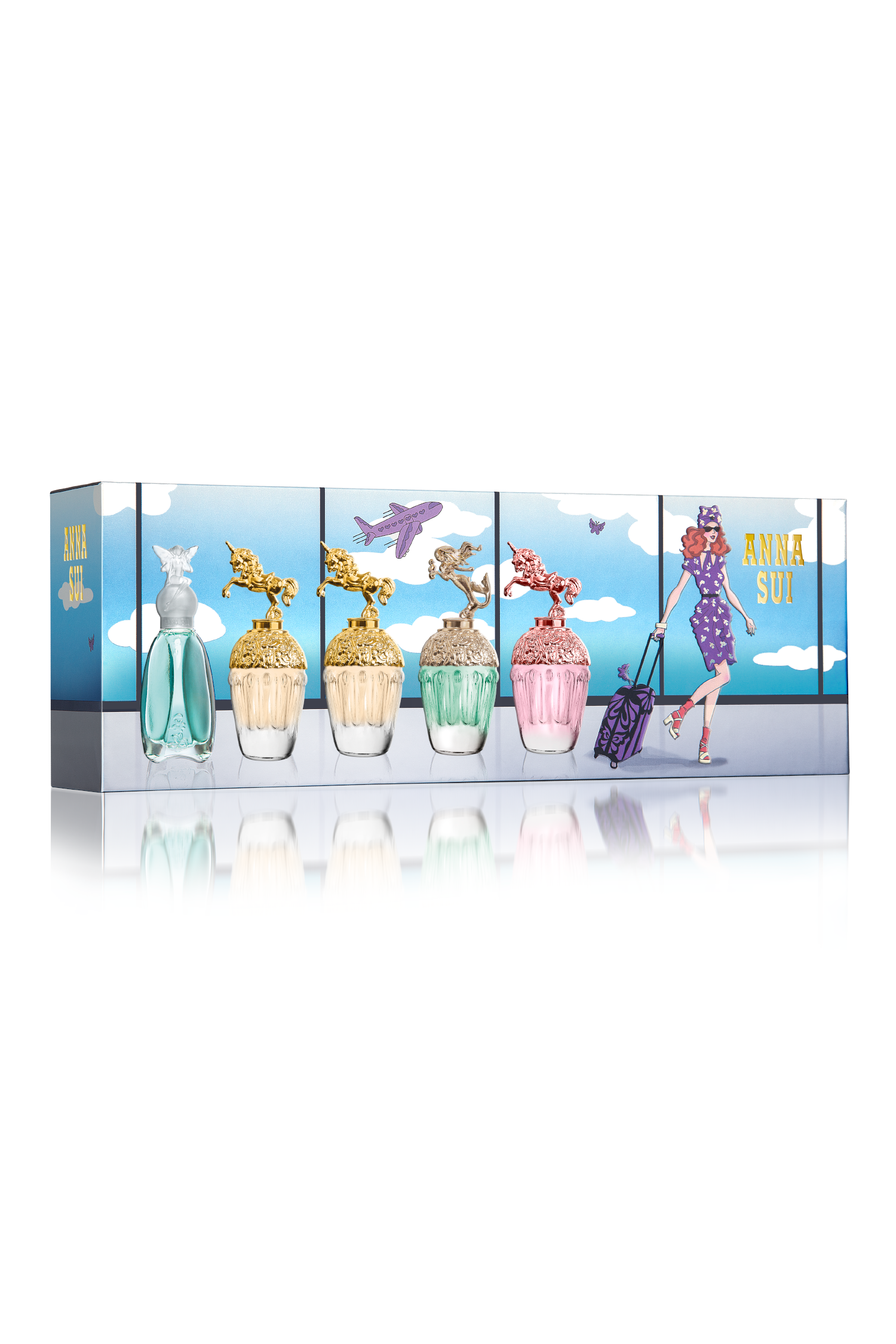 New: Fragrance Mini Set - Anna Sui