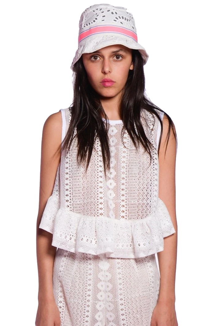 Picnic Lace Top - Anna Sui