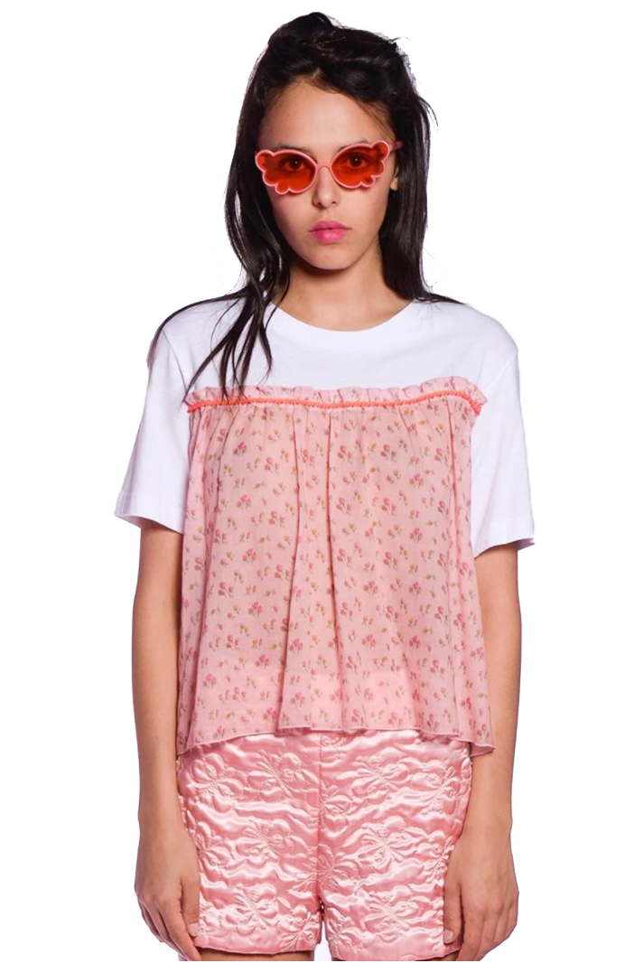 Rosebuds Trim Top - Anna Sui