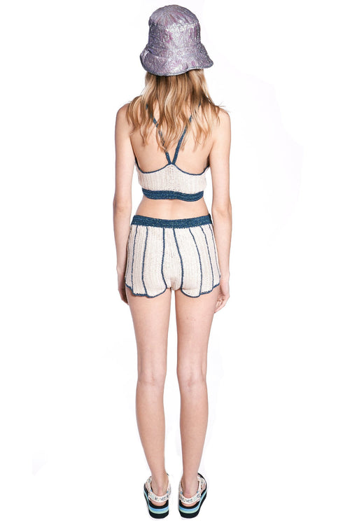 Sea Shell Crochet Shorts - Anna Sui