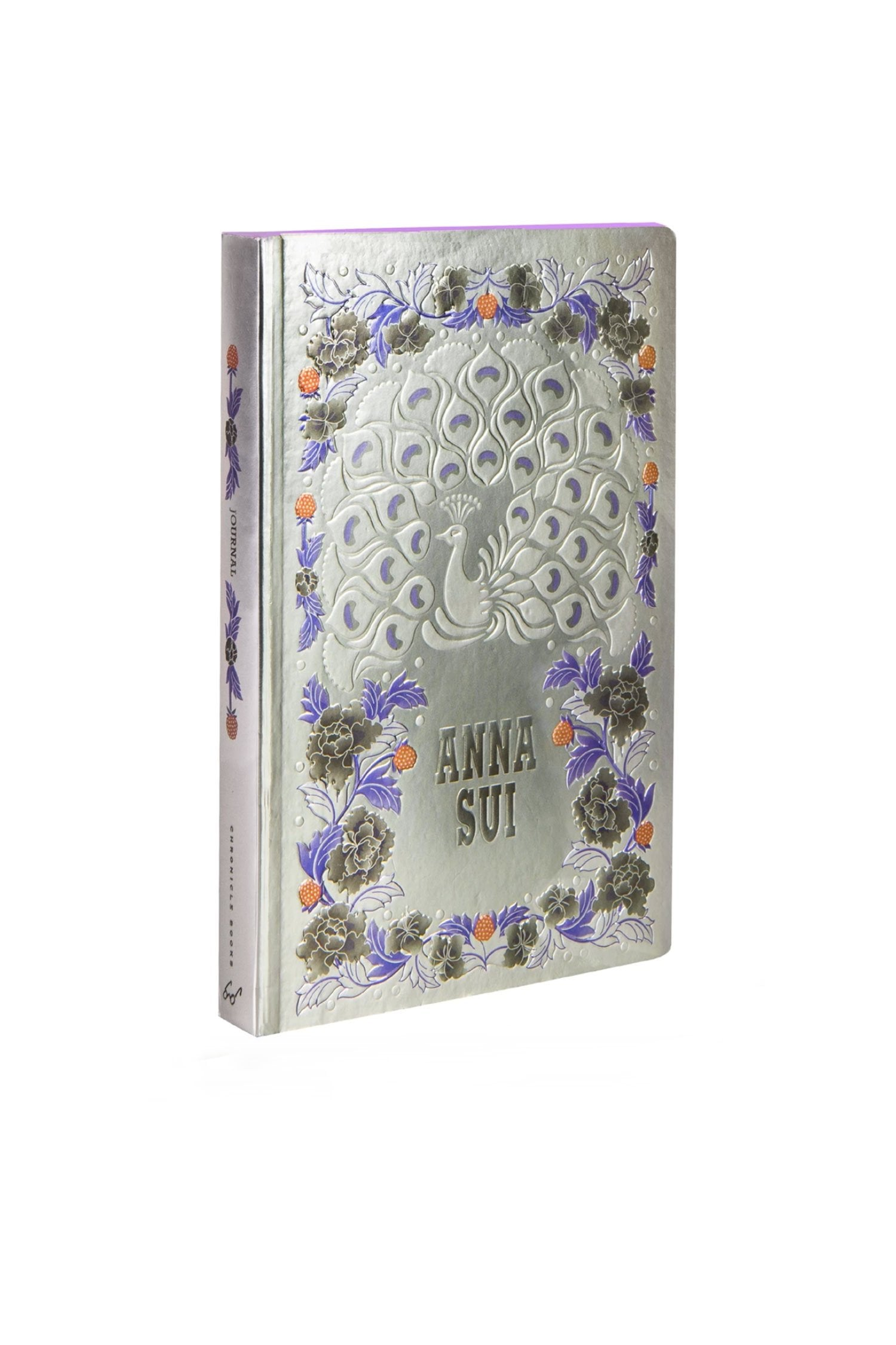 Flights of Fancy Silver Foil Journal - Anna Sui