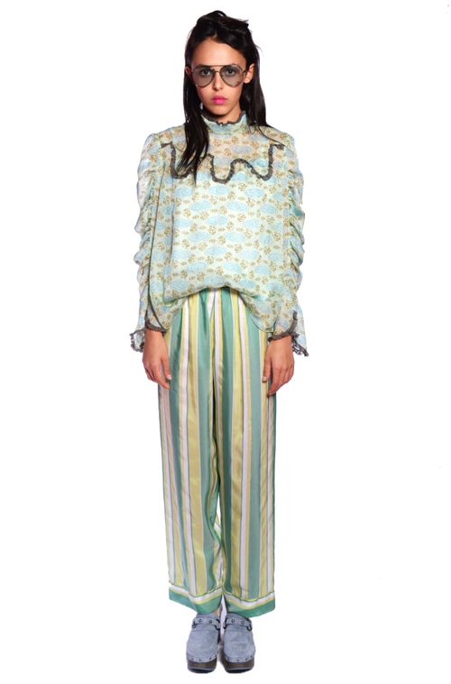 Summer Stripe Pants - Anna Sui