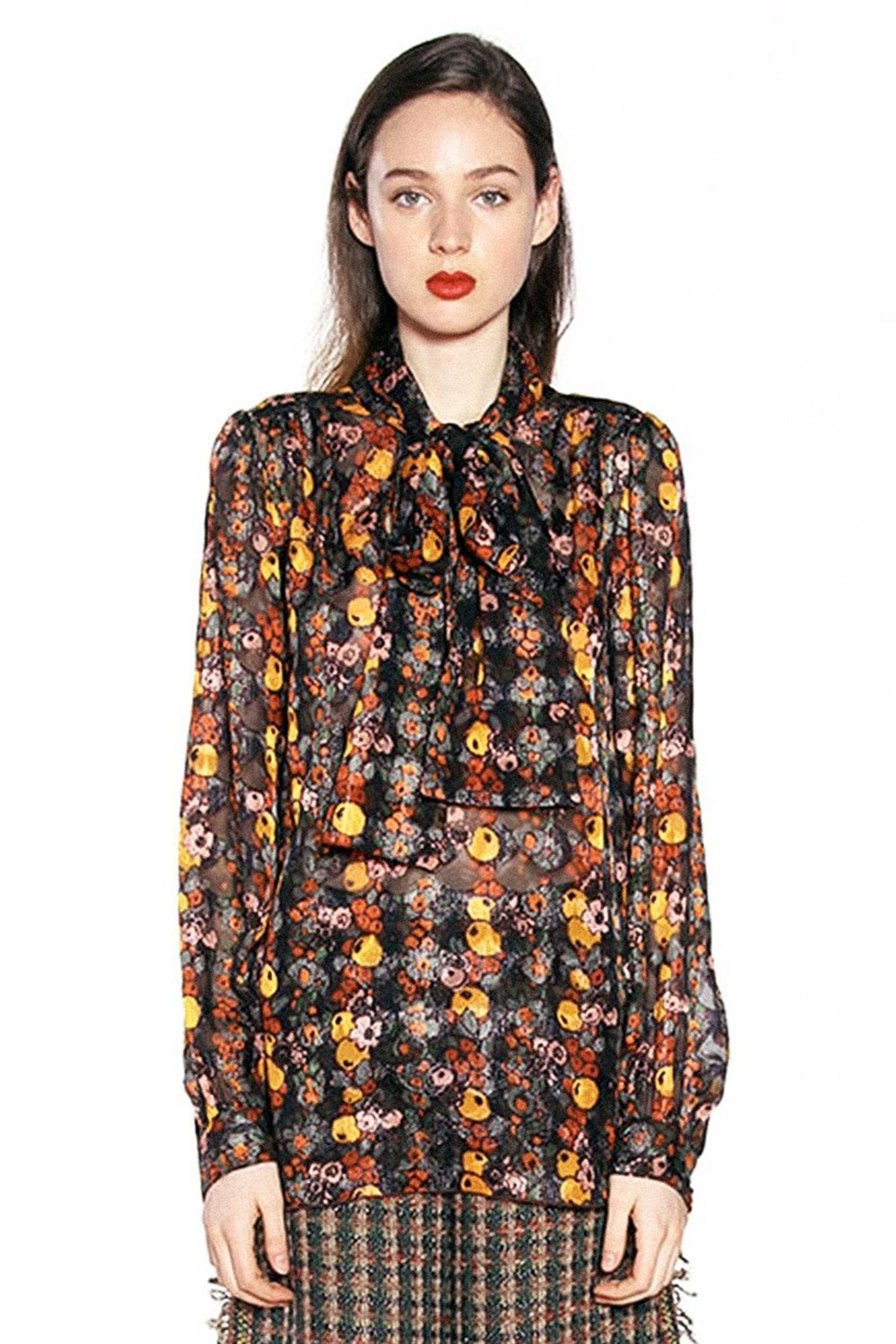 Fruits & Florals Ditsy Daze Shirt - Anna Sui