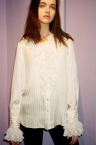 Vintage Lavender Mohair Sweater & Satin Dress <br>  Spring 1994