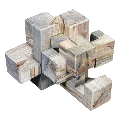 Wooden puzzle boxes, puzzle boxes for adults and escape room puzzles by CubicDissection.