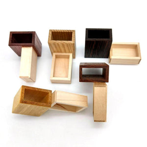 Oskar's Matchboxes (Mixed Wood)