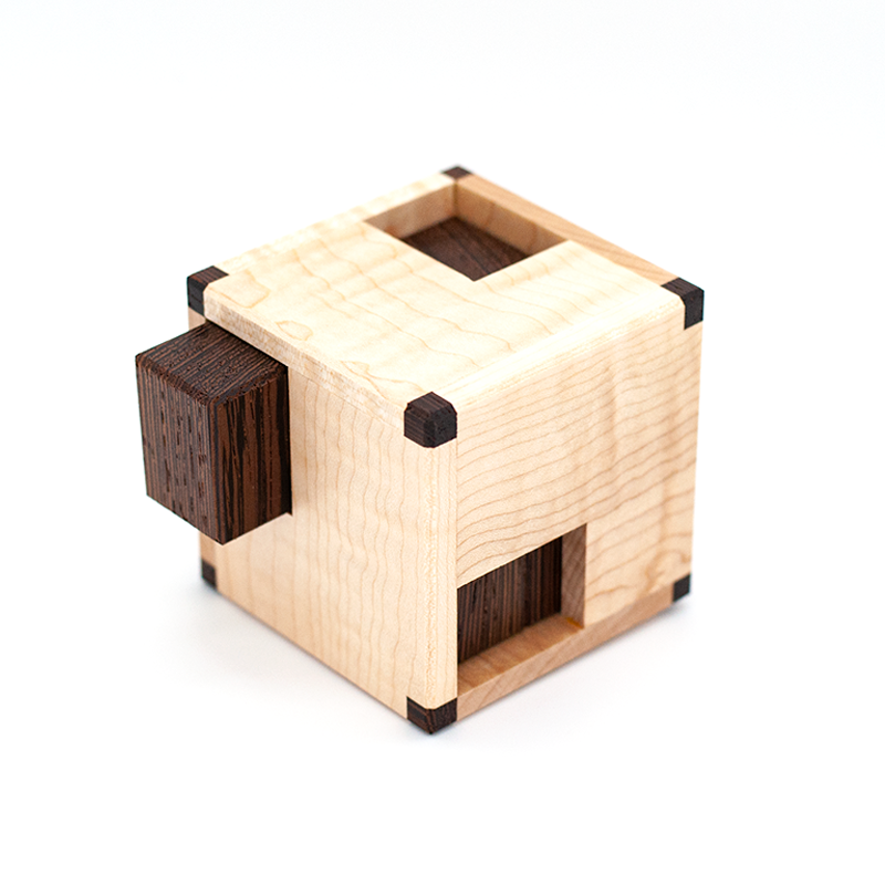 Puzzle boxes, brain teaser puzzles and physical puzzles by CubicDissection.
