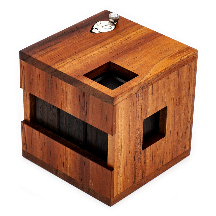Sequential Discovery, Disassembly Puzzle, and Wooden Puzzle Box by Cubic Dissection