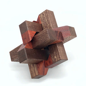 Kaon Interlocking Puzzle (Paduak Variation)