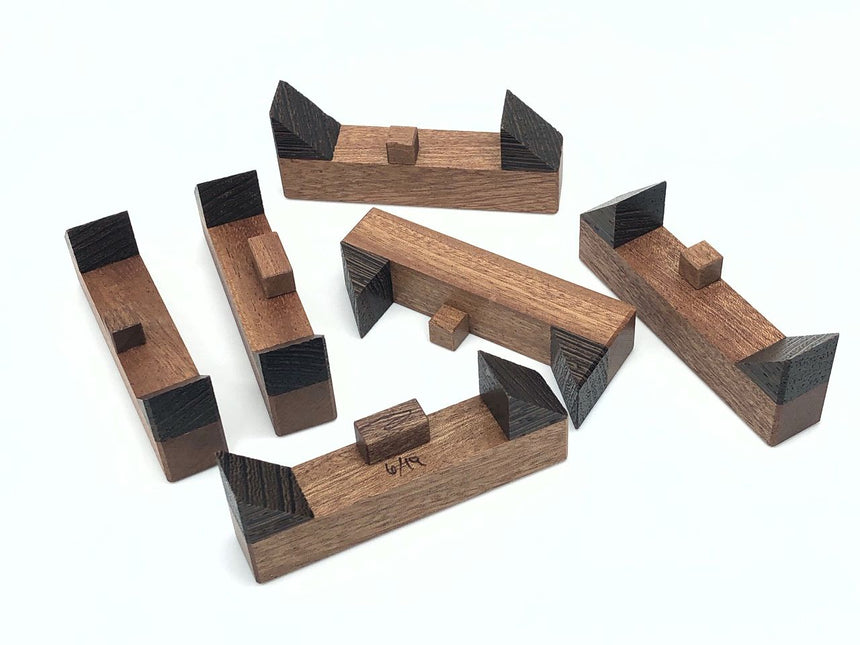 Kaon Interlocking Puzzle (Wenge Variation)