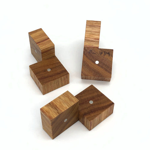 Three Cubes (Canarywood)