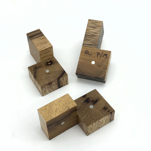 Three Cubes (Black Limba)