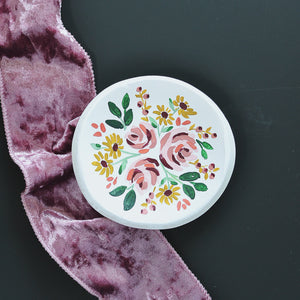 Trinket tray | Floral
