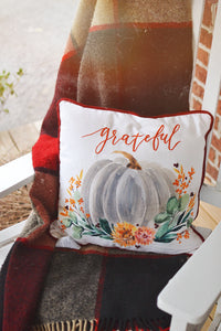 "Fall | 18"" Grateful Pillow"