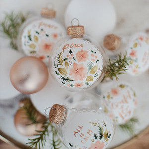 Christmas Ornament | Peace