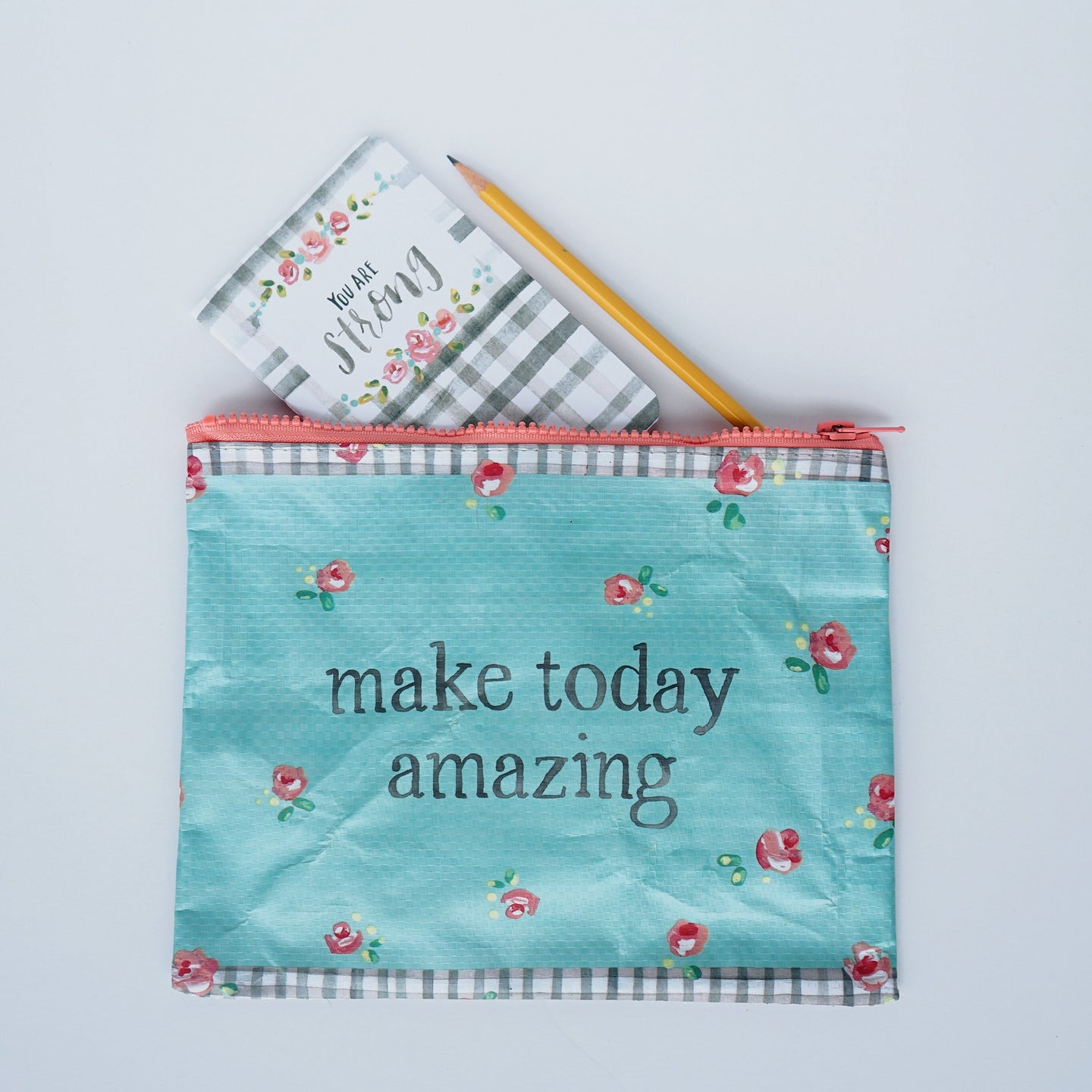 Zipper pouch | make today amazing