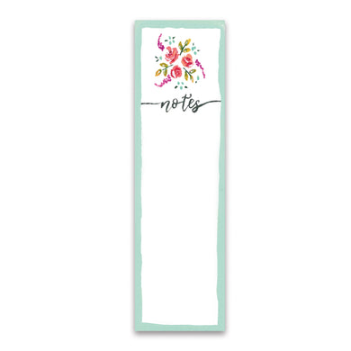 Floral to-do-list notepad