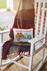 Fall | Autumn Blessings Pillow