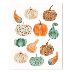 Fall Print | pumpkins