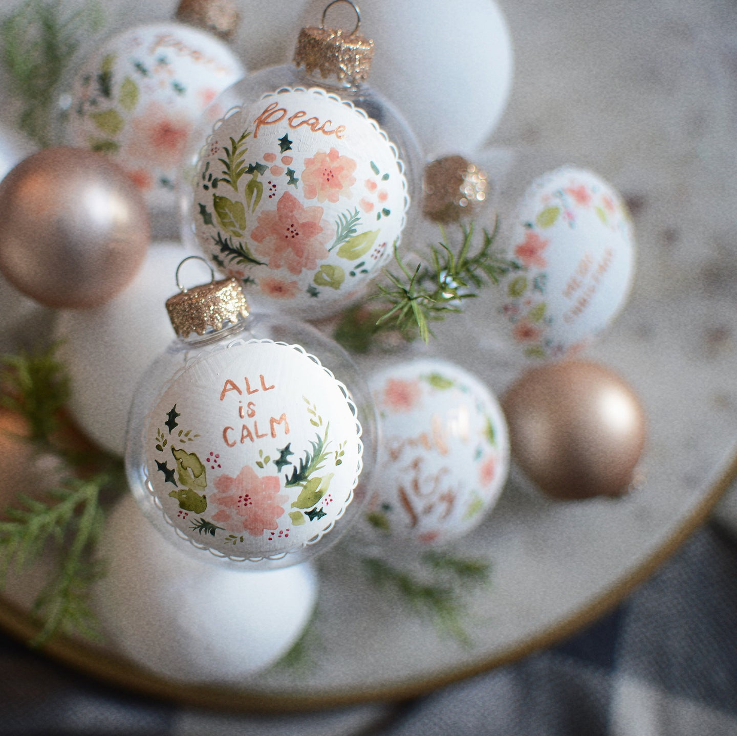 Christmas Ornament | All is calm