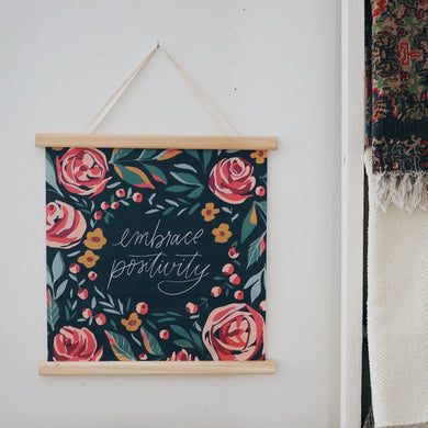 Botanical | Embrace Positivity Wall Hanging