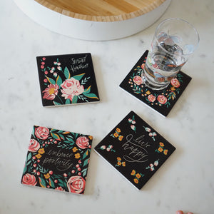 Botanical | Set of 4 Coasters
