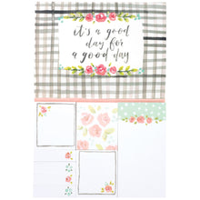 Floral sticky note set