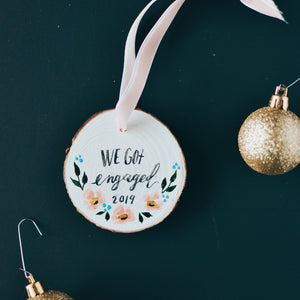 Ornament | We got engaged