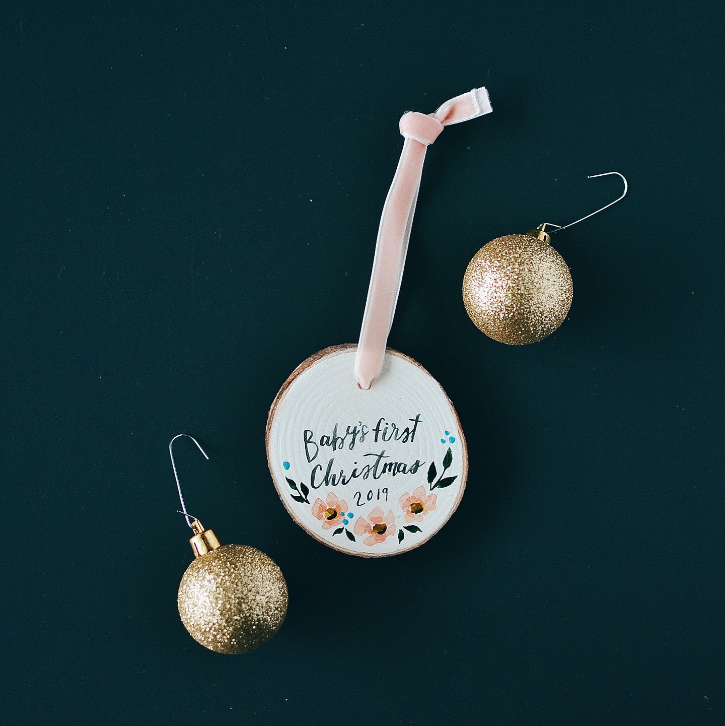 Ornament | Baby's/our first Christmas