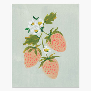 Print | Strawberries