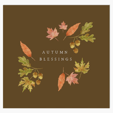 Fall Print | Autumn Blessings
