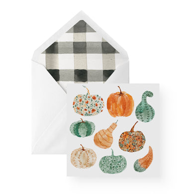 Fall Greeting Card | Set of 6 | Pumpkins