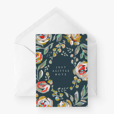 Greeting Card | Just a little note