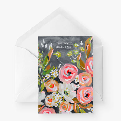 Greeting Card | This too shall pass