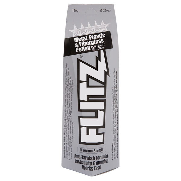 Flitz Paste Polish for Metal, Plastic, and Fiberglass