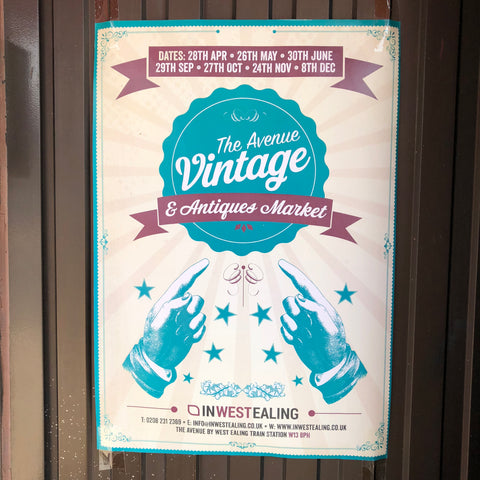 The Avenue Vintage & Antiques Market Poster