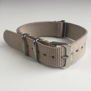 beige NATO watch strap