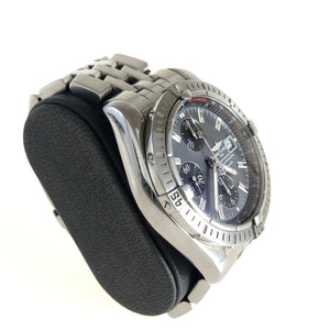 Steel Breitling watch