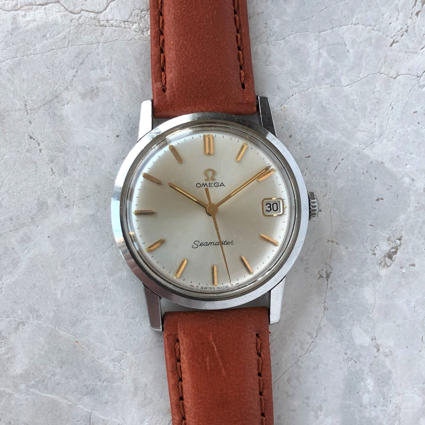 Vintage Omega Seamaster with date