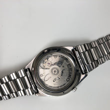 Seiko watch with see-through case back
