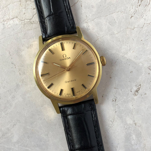 Classic gold watch