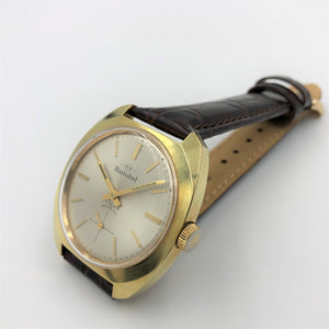 Classic gold men's wristwatch