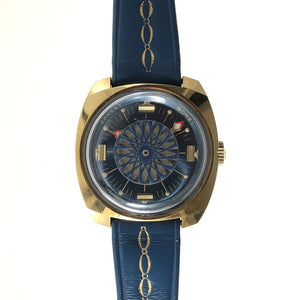 Ernest Borel mystery caleidoscope watch