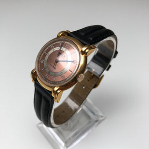 Vintage Gruen watch with 24 hour dial