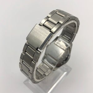Stainless steel watch bracelet clasp